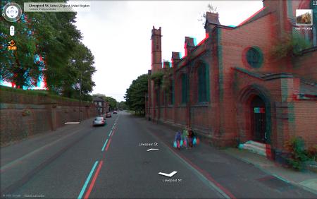 Google Streetview 3D